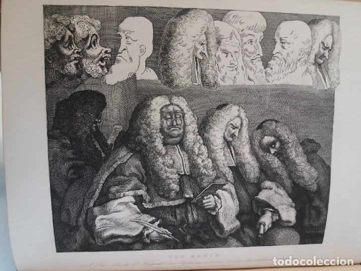 Libros antiguos: 2 FABULOSOS LIBROS LOS TRABAJOS DE WILLIAM HOGARTH MARAVILLOSA ENCUADERNACION GRABADOS 190 AÑOS - Foto 111 - 230632690