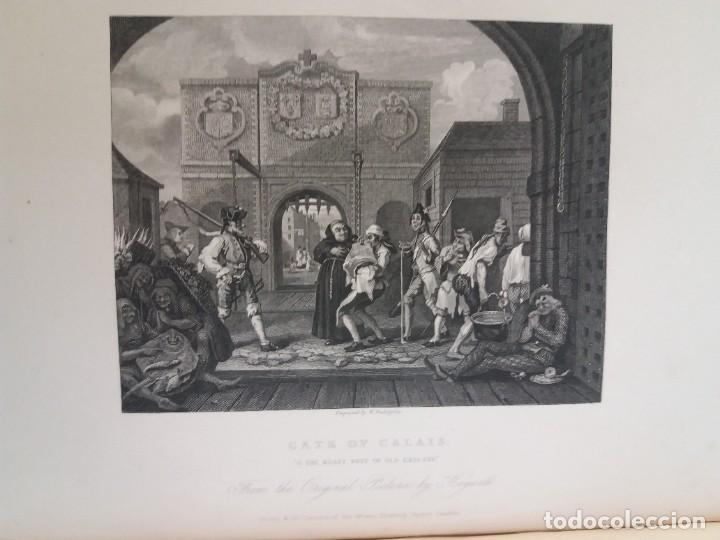 Libros antiguos: 2 FABULOSOS LIBROS LOS TRABAJOS DE WILLIAM HOGARTH MARAVILLOSA ENCUADERNACION GRABADOS 190 AÑOS - Foto 113 - 230632690
