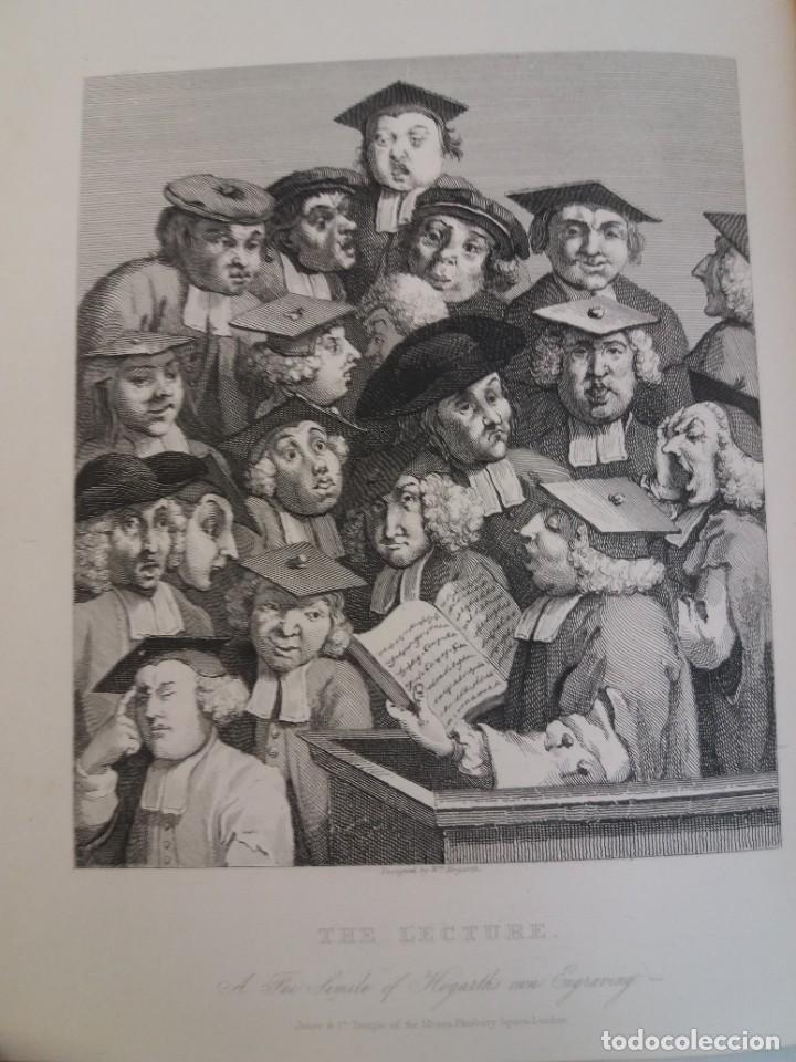 Libros antiguos: 2 FABULOSOS LIBROS LOS TRABAJOS DE WILLIAM HOGARTH MARAVILLOSA ENCUADERNACION GRABADOS 190 AÑOS - Foto 121 - 230632690
