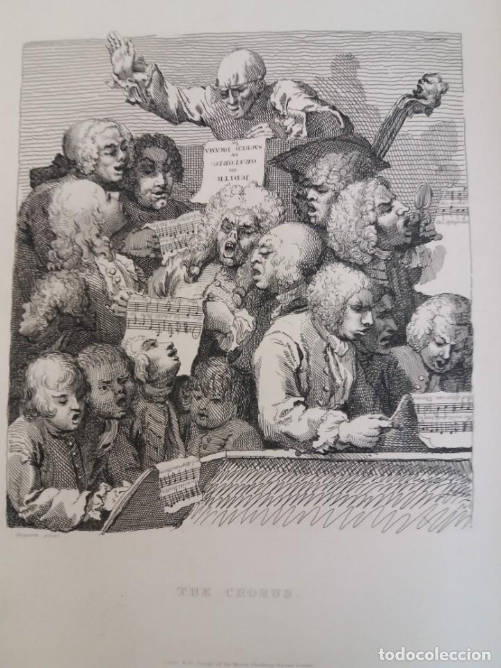 Libros antiguos: 2 FABULOSOS LIBROS LOS TRABAJOS DE WILLIAM HOGARTH MARAVILLOSA ENCUADERNACION GRABADOS 190 AÑOS - Foto 122 - 230632690