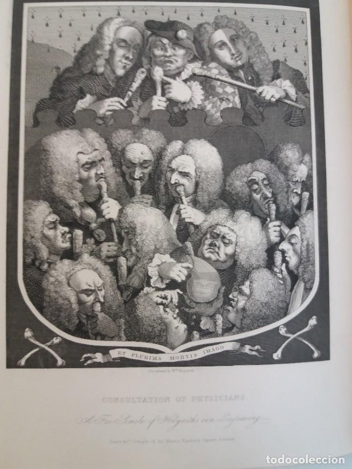 Libros antiguos: 2 FABULOSOS LIBROS LOS TRABAJOS DE WILLIAM HOGARTH MARAVILLOSA ENCUADERNACION GRABADOS 190 AÑOS - Foto 125 - 230632690