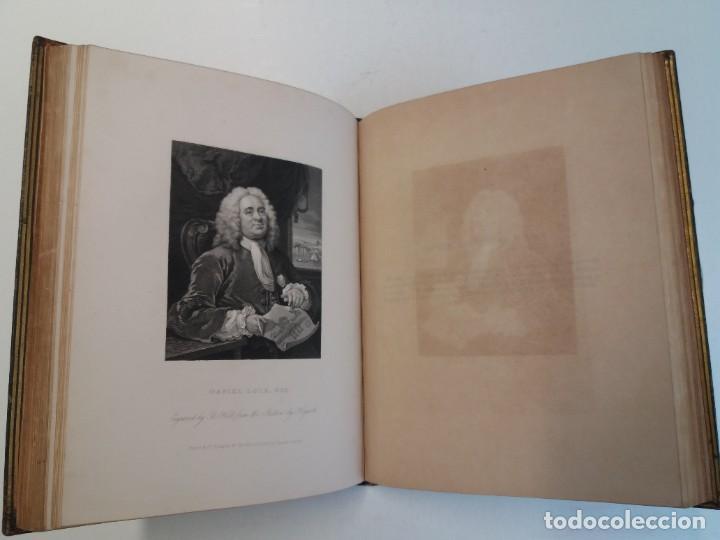 Libros antiguos: 2 FABULOSOS LIBROS LOS TRABAJOS DE WILLIAM HOGARTH MARAVILLOSA ENCUADERNACION GRABADOS 190 AÑOS - Foto 126 - 230632690