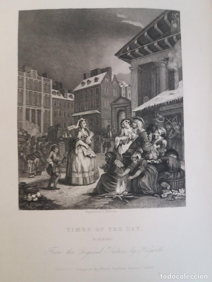 Libros antiguos: 2 FABULOSOS LIBROS LOS TRABAJOS DE WILLIAM HOGARTH MARAVILLOSA ENCUADERNACION GRABADOS 190 AÑOS - Foto 130 - 230632690
