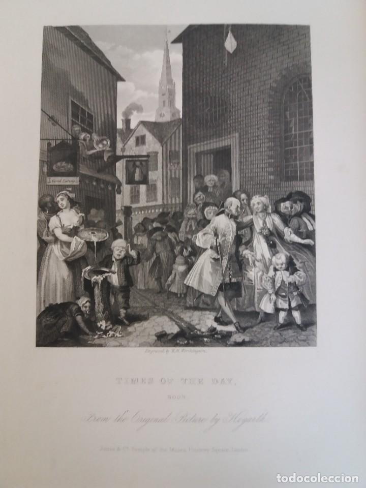 Libros antiguos: 2 FABULOSOS LIBROS LOS TRABAJOS DE WILLIAM HOGARTH MARAVILLOSA ENCUADERNACION GRABADOS 190 AÑOS - Foto 131 - 230632690