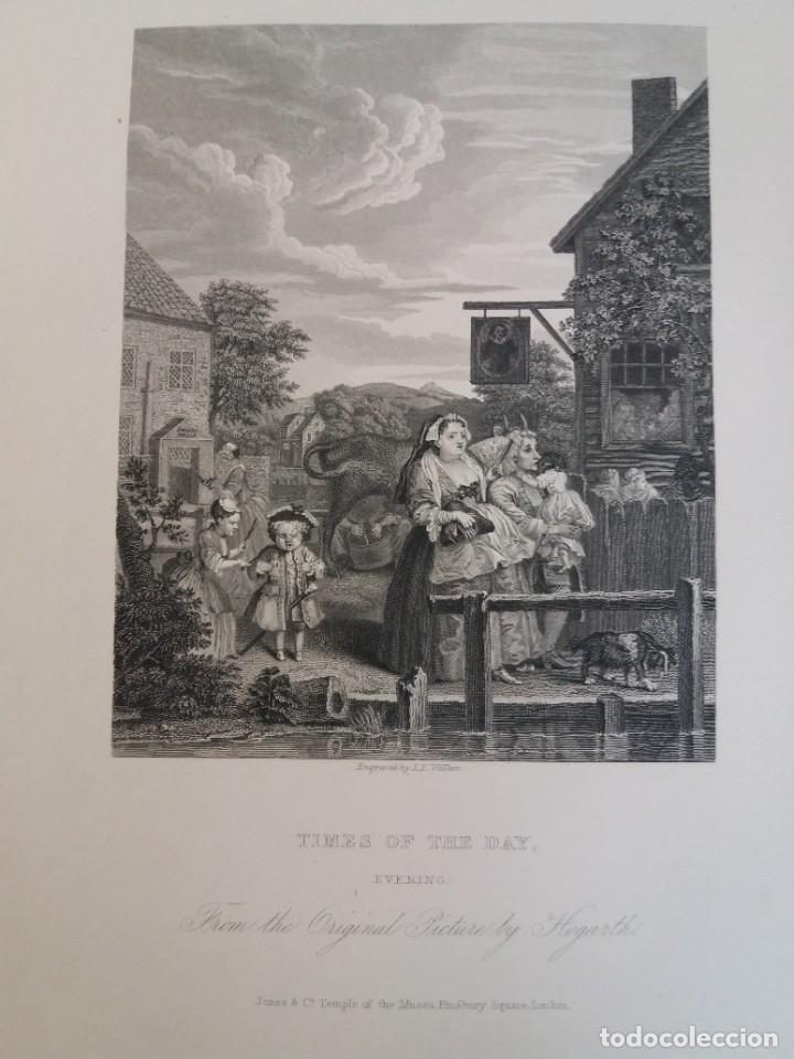 Libros antiguos: 2 FABULOSOS LIBROS LOS TRABAJOS DE WILLIAM HOGARTH MARAVILLOSA ENCUADERNACION GRABADOS 190 AÑOS - Foto 132 - 230632690