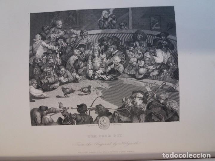 Libros antiguos: 2 FABULOSOS LIBROS LOS TRABAJOS DE WILLIAM HOGARTH MARAVILLOSA ENCUADERNACION GRABADOS 190 AÑOS - Foto 136 - 230632690