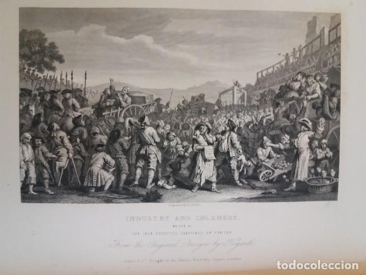 Libros antiguos: 2 FABULOSOS LIBROS LOS TRABAJOS DE WILLIAM HOGARTH MARAVILLOSA ENCUADERNACION GRABADOS 190 AÑOS - Foto 149 - 230632690