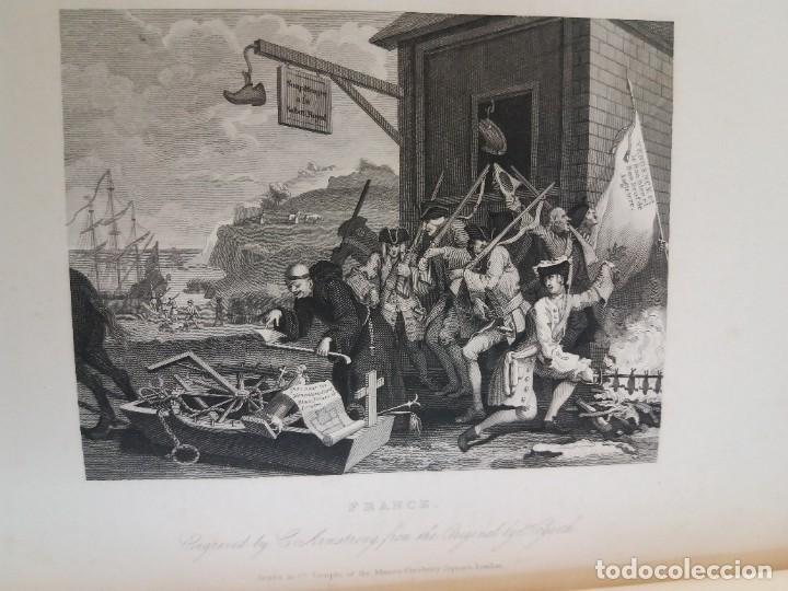 Libros antiguos: 2 FABULOSOS LIBROS LOS TRABAJOS DE WILLIAM HOGARTH MARAVILLOSA ENCUADERNACION GRABADOS 190 AÑOS - Foto 153 - 230632690
