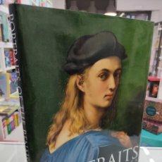 Libros antiguos: PORTRAITS OF THE RENAISSANCE AUSOLINE GRAN FORMATO 40X 30 CM RETRATOS DEL RENACIMIENTO EXCLUSIVO. Lote 239440580