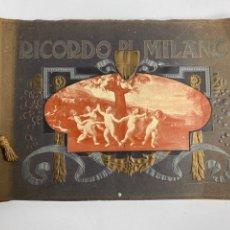 Libros antiguos: QUADRI ARTISTICI DELLE GALLERIE DI MILANO, 36 LAMINAS. 1930.. Lote 246373635