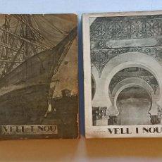 Libros antiguos: VELL I NOU REVISTA D'ART 1915-1921. Lote 246969530