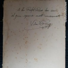 Libros antiguos: VILA- PUIG. JOAN MATES. EDICIONS LA MA TRENCADA 1934.DEDICADO POR EL PINTOR VILA PUIG.. Lote 247336365
