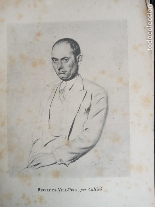 Libros antiguos: VILA- PUIG. JOAN MATES. EDICIONS LA MA TRENCADA 1934.DEDICADO POR EL PINTOR VILA PUIG. - Foto 4 - 247336365