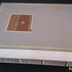 Libros antiguos: 1922 - CAMPBELL DODGSON - THE ETCHINGS OF JAMES MCNEILL WHISTLER. Lote 247385030