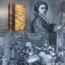 Libros antiguos: 1830 - VIDA DE LOS MAS EMINENTES PINTORES, ESCULTORES Y ARQUITECTOS INGLESES - GRABADOS - REYNOLDS. Lote 259866870