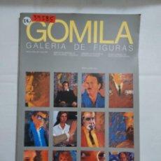Libros antiguos: 39585 - GALERIA DE FIGURAS DE GOMILA - MUSEO ESPAÑOL DE ARTE CONTEMPORANEO - AÑO 1983. Lote 260638260