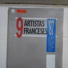 Libros antiguos: 39577 - 9 ARTISTAS FRANCESES 87 - MUSEO DE ARTE CONTEMPORANEO ESPAÑOL - AÑO 1987. Lote 260639250