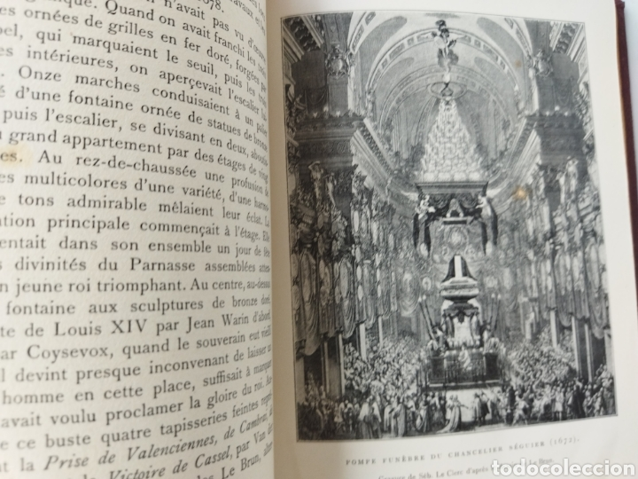 Libros antiguos: les Maitres de LArt .Charles Le Brun.Pierre Marcel 1930 - Foto 4 - 262492595