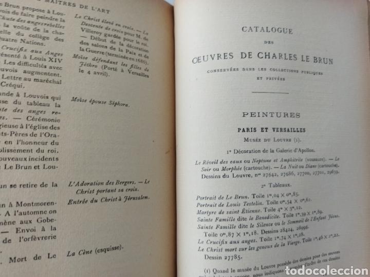 Libros antiguos: les Maitres de LArt .Charles Le Brun.Pierre Marcel 1930 - Foto 7 - 262492595