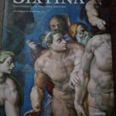 Libros antiguos: LA CAPILLA SIXTINA. Lote 263513050