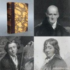 Livres anciens: 1830 - VIDAS DE LOS MAS EMINENTES ESCULTORES, PINTORES Y ARQUITECTOS BRITANICOS - BIRD - FUSELI. Lote 267082309
