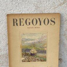 Libros antiguos: DIARIO REGOYOS RAFAEL BENET EL IMPRESIONISMO Y MAS ALLA DEL IMPRESIONISMO 1946 BARCELONA 29X22CMS. Lote 267906684