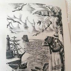 Libros antiguos: SENDEROS DE ESPAÑA EUGENIO CARBALLO FIRMADO Y DEDICADO POR EL AUTOR. Lote 269295548