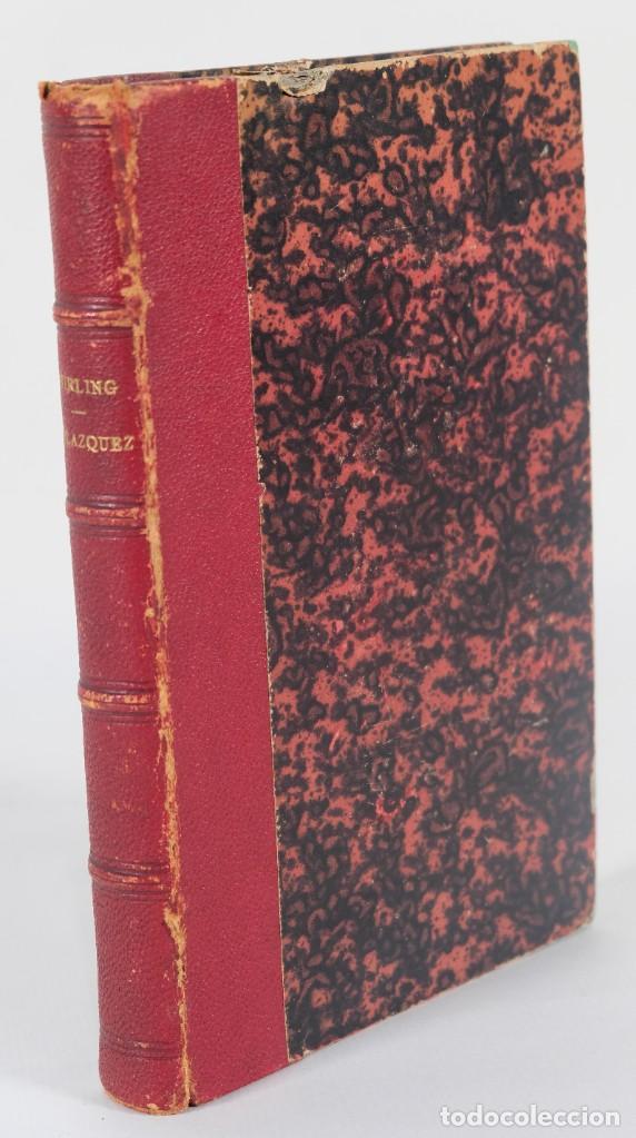 Libros antiguos: Velazquez et ses oeuvres - William Stirling - J.Renouard libraire 1865 - Foto 2 - 269748223