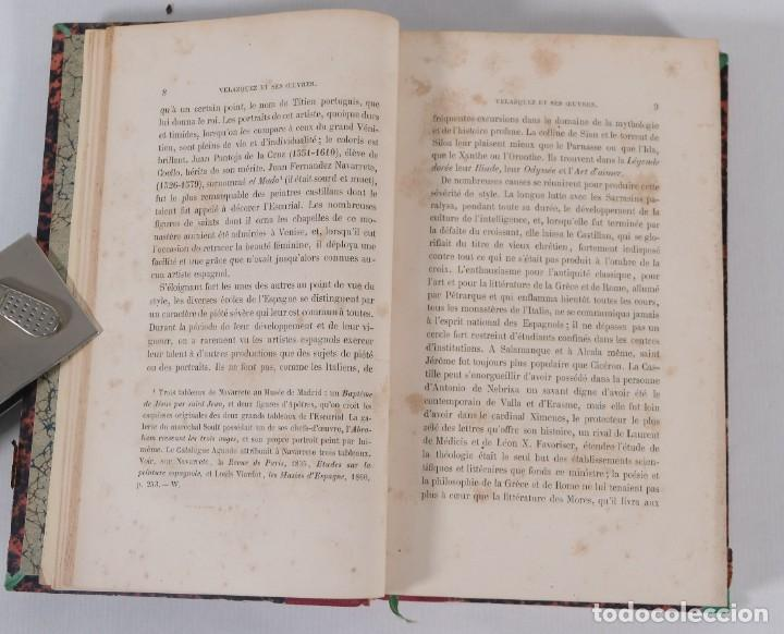 Libros antiguos: Velazquez et ses oeuvres - William Stirling - J.Renouard libraire 1865 - Foto 8 - 269748223