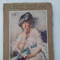 Libros antiguos: L'ART BELGE PAQUES 1927, IDIOMA FRANCÉS. Lote 270891698