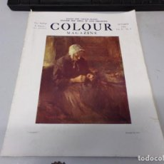 Libros antiguos: INTERESANTE REVISTA 1922 COLOUR MAGAZINE EN INGLES , ARTE PINTURA CUADROS BUEN ESTADO. Lote 272269098