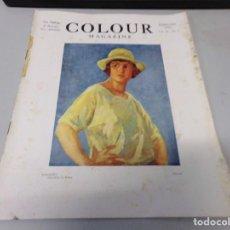 Libros antiguos: INTERESANTE REVISTA 1923 COLOUR MAGAZINE EN INGLES , ARTE PINTURA CUADROS BUEN ESTADO. Lote 272276413