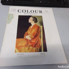 Libros antiguos: INTERESANTE REVISTA 1923 COLOUR MAGAZINE EN INGLES , ARTE PINTURA CUADROS BUEN ESTADO. Lote 272278243