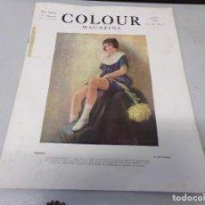 Libros antiguos: INTERESANTE REVISTA 1923 COLOUR MAGAZINE EN INGLES , ARTE PINTURA CUADROS BUEN ESTADO. Lote 272280263
