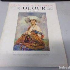Libros antiguos: INTERESANTE REVISTA 1923 COLOUR MAGAZINE EN INGLES , ARTE PINTURA CUADROS BUEN ESTADO. Lote 272284628