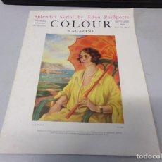 Libros antiguos: INTERESANTE REVISTA 1923 COLOUR MAGAZINE EN INGLES , ARTE PINTURA CUADROS BUEN ESTADO. Lote 272285203