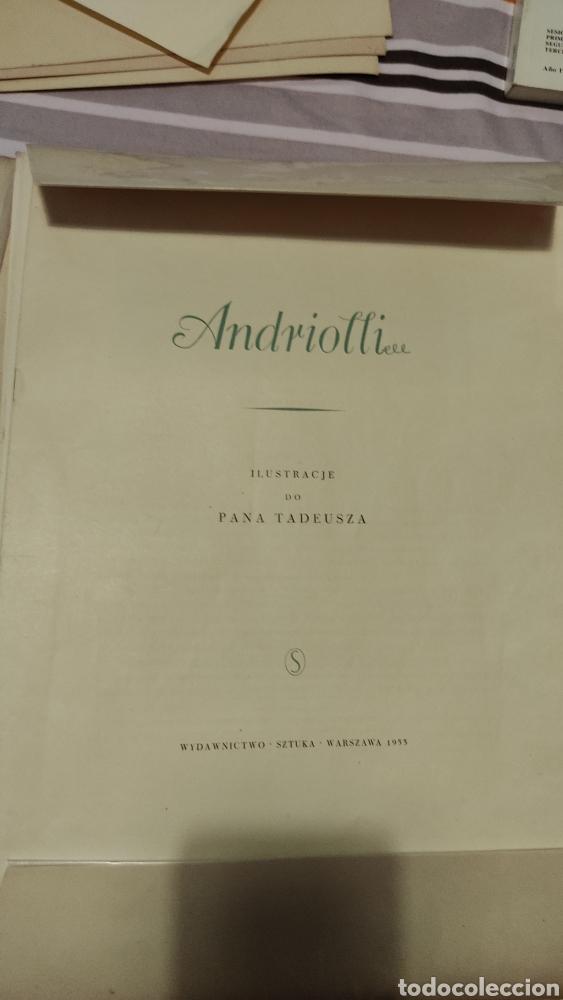 Libros antiguos: Andriolli 1933 - Foto 2 - 275888643