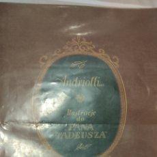 Libros antiguos: ANDRIOLLI 1933. Lote 275888643