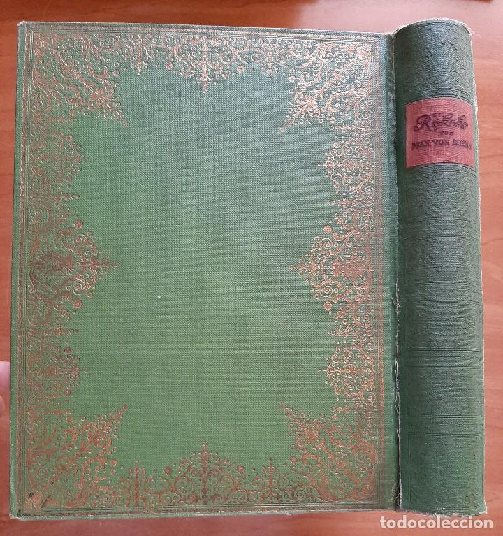 Libros antiguos: 1921 ROKOKO FRANKREICH M XVIII JAHRHUNDERT - MAX VON BOEHN / ILUSTRADO - EN ALEMÁN - Foto 2 - 276580993