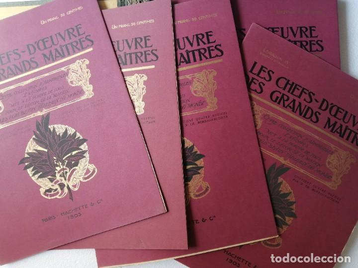 Libros antiguos: Les chef doeuvre des grands maîtres 1903 - 1ª serie completa - Foto 2 - 277055418