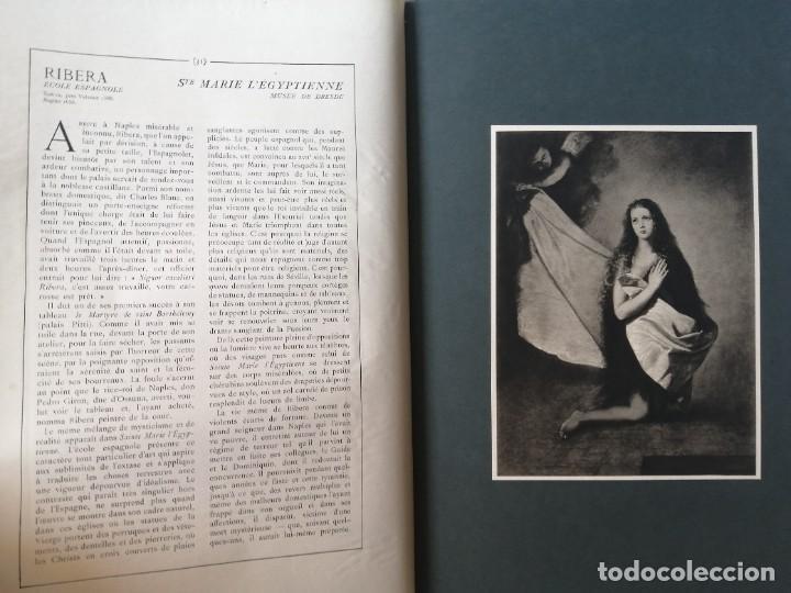 Libros antiguos: Les chef doeuvre des grands maîtres 1903 - 1ª serie completa - Foto 3 - 277055418