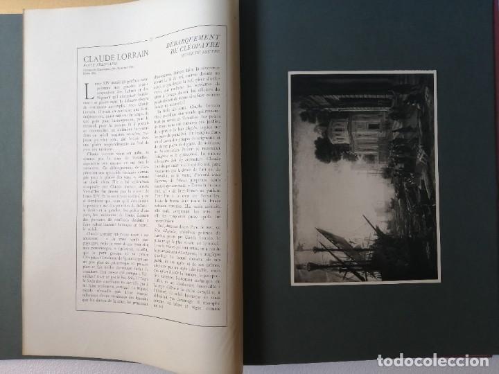 Libros antiguos: Les chef doeuvre des grands maîtres 1903 - 1ª serie completa - Foto 7 - 277055418