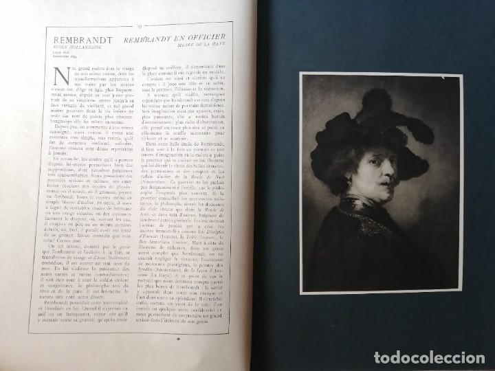 Libros antiguos: Les chef doeuvre des grands maîtres 1903 - 1ª serie completa - Foto 8 - 277055418