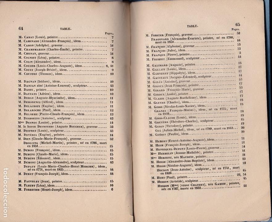 Libros antiguos: * CATÁLOGO MUSEO LUXEMBURGO * Notice des peintures, sculptures, gravures ... / Frédéric Villot- 1853 - Foto 5 - 277460513