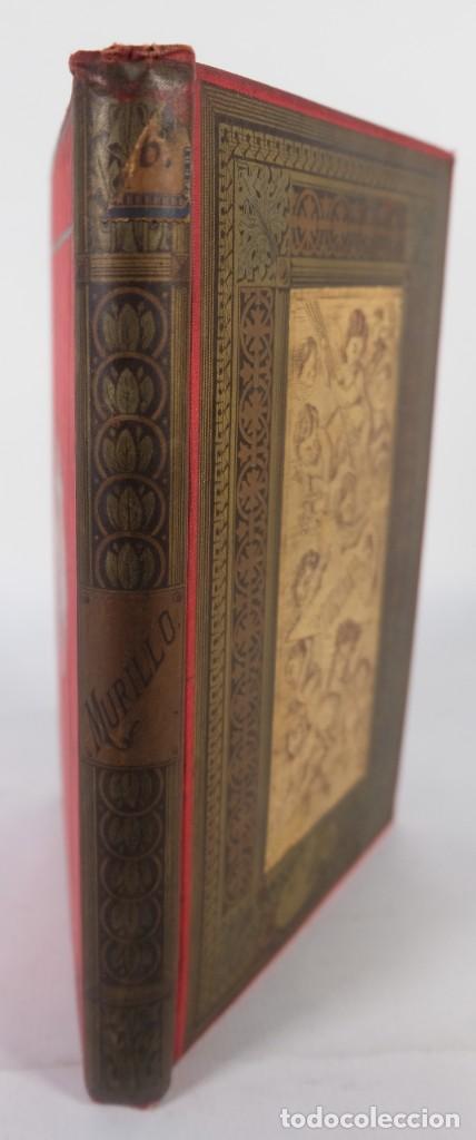Libros antiguos: Murillo - Luis Alfonso - Biblioteca Arte y Letras 1886 - Foto 3 - 277517398