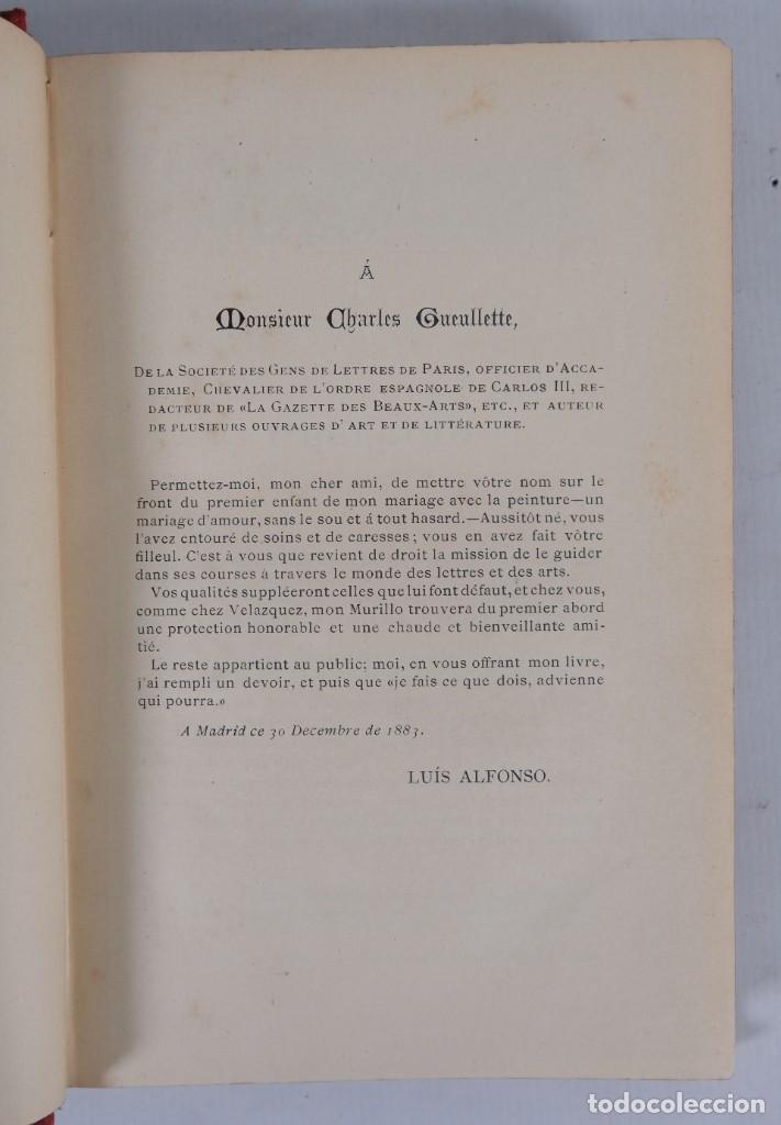Libros antiguos: Murillo - Luis Alfonso - Biblioteca Arte y Letras 1886 - Foto 6 - 277517398