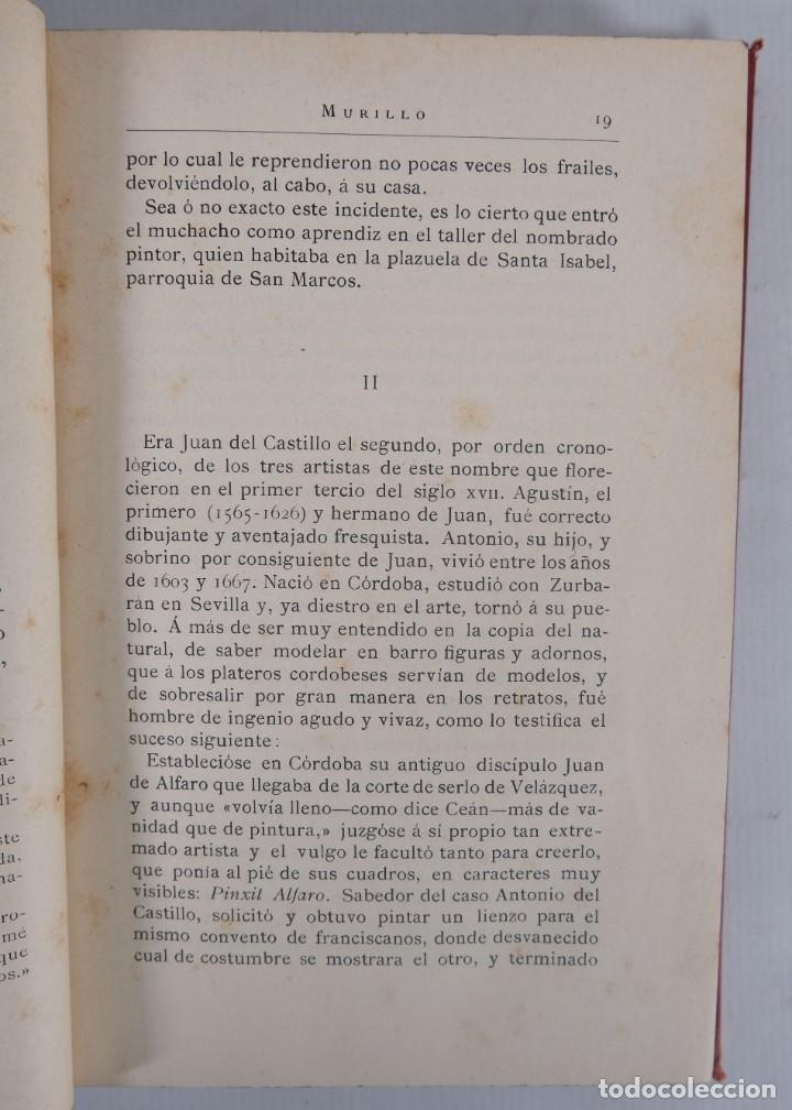 Libros antiguos: Murillo - Luis Alfonso - Biblioteca Arte y Letras 1886 - Foto 7 - 277517398