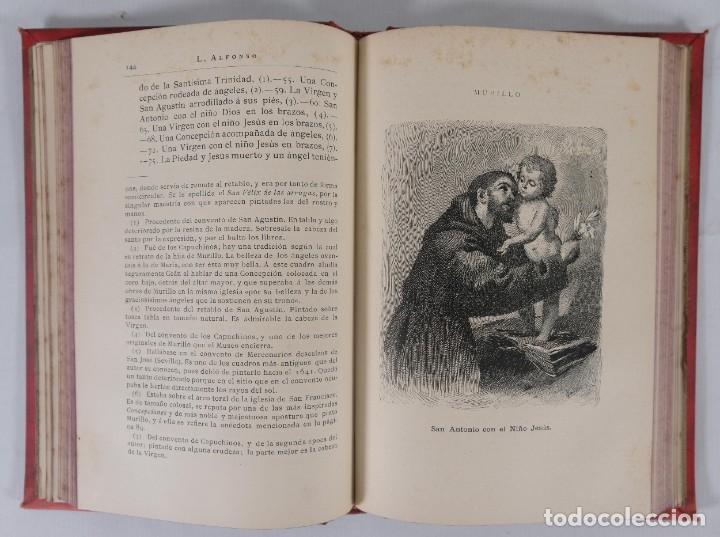 Libros antiguos: Murillo - Luis Alfonso - Biblioteca Arte y Letras 1886 - Foto 8 - 277517398