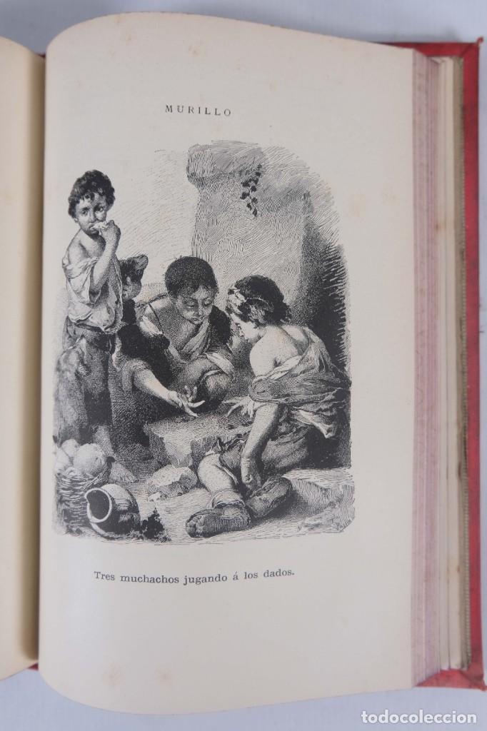 Libros antiguos: Murillo - Luis Alfonso - Biblioteca Arte y Letras 1886 - Foto 9 - 277517398