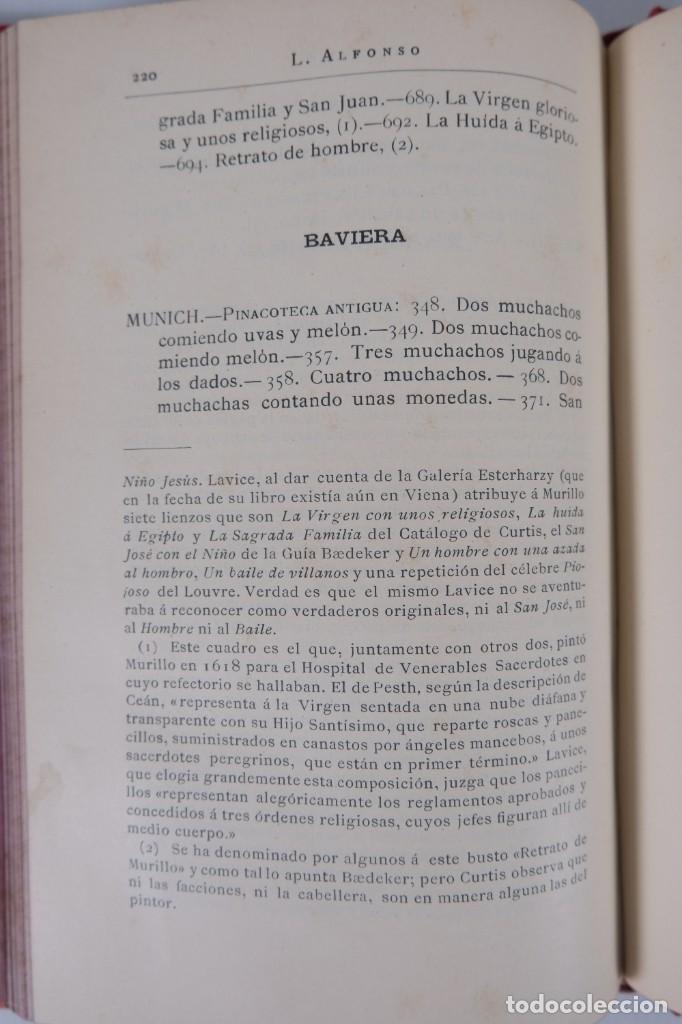 Libros antiguos: Murillo - Luis Alfonso - Biblioteca Arte y Letras 1886 - Foto 10 - 277517398